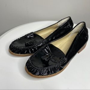 Dolce Vita wentz patent leahter tassel loafers